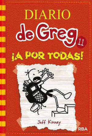 DIARIO DE GREG 11  ¡ A POR TODAS !