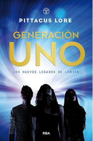 GENERACION UNO.  NUEVOS LEGADOS DE LORIEN