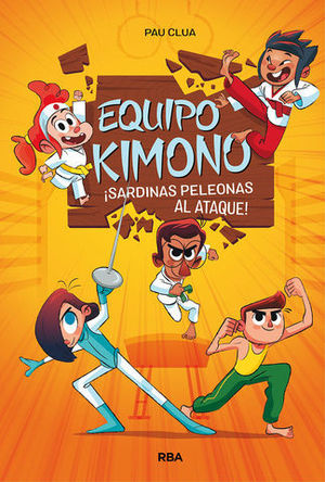 EQUIPO KIMONO.  ¡ SARDINAS PELEONAS AL ATAQUE !