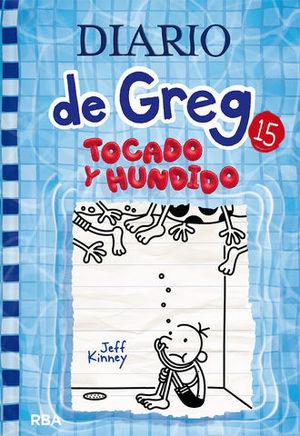 DIARIO DE GREG.  TOCADO Y HUNDIDO