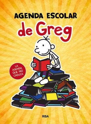 AGENDA ESCOLAR DE GREG 2020 - 2021