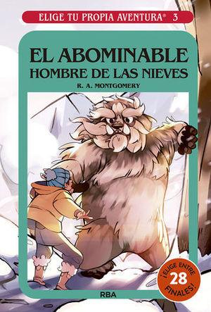 EL ABOMINABLE HOMBRE DE LAS NIEVES.  ELIGE TU PROPIA AVENTURA 3