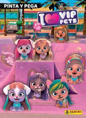 PINTA Y PEGA I LOVE VIP PETS