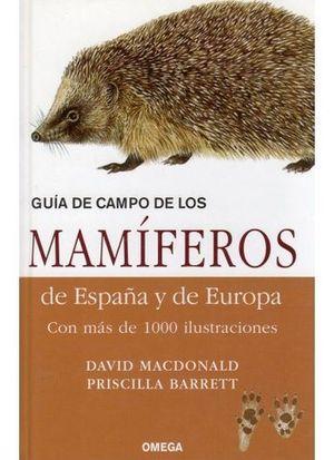 GUIA DE CAMPO DE LOS MAMIFEROS