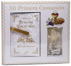 MI PRIMERA COMUNION ( MISAL + ROSARIO )