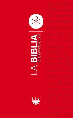 LA BIBLIA EDICION POPULAR