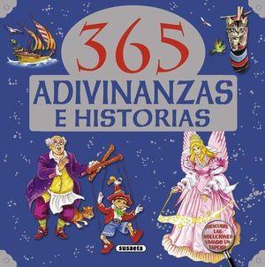 365 ADIVINANZAS E HISTORIAS LIBRO AZUL