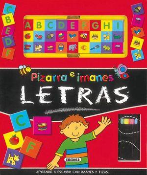 LETRAS PIZARRA E IMANES