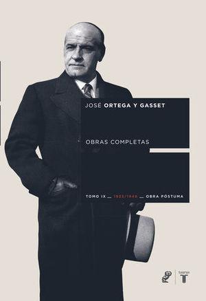 OBRAS COMPLETAS TOMO IX 1933-1948