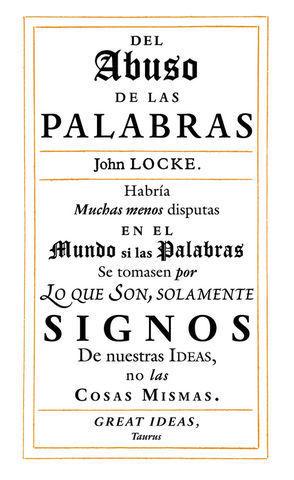 EL ABUSO DE LAS PALABRAS