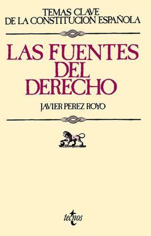 FUENTES DEL DERECHO, LAS