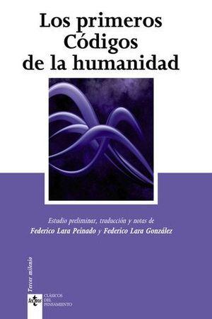 LOS PRIMEROS CODIGOS DE LA HUMANIDAD