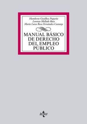 MANUAL BASICO DE DERECHO DEL EMPLEO PUBLICO