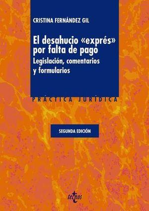 EL DESAHUCIO EXPRES POR FALTA DE PAGO 2ª ED. 2013