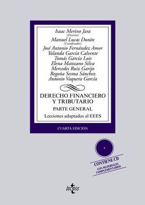 DERECHO FINANCIERO Y TRIBUTARIO PARTE GENERAL 4ª ED. 2014