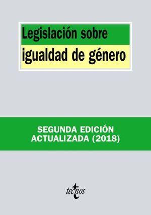 LEGISLACION SOBRE IGUALDAD DE GENERO