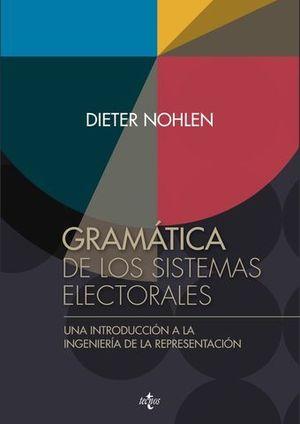 GRAMATICA DE LOS SISTEMAS ELECTORALES