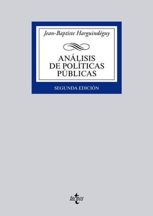 ANALISIS DE POLITICAS PUBLICAS 2ª ED. 2015