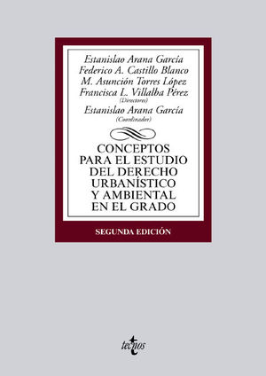 CONCEPTOS PARA EL ESTUDIO DERECHO URBANISTICO AMBIENTAL 2ª ED. 2015