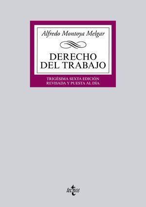 DERECHO DEL TRABAJO 36ª ED. 2015