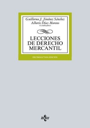 LECCIONES DE DERECHO MERCANTIL 18ª ED. 2015