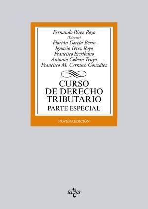 CURSO DE DERECHO TRIBUTARIO PARTE ESPECIAL 9º ED. 2015