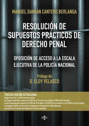 RESOLUCION DE SUPUESTOS PRACTICOS DE DERECHO PENAL
