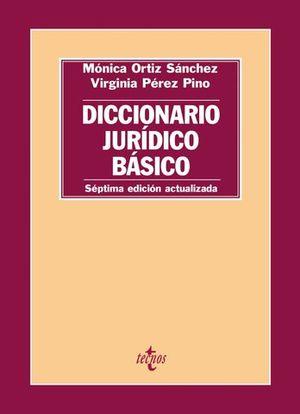 DICCIONARIO JURIDICO BASICO 7ª ED. 2016