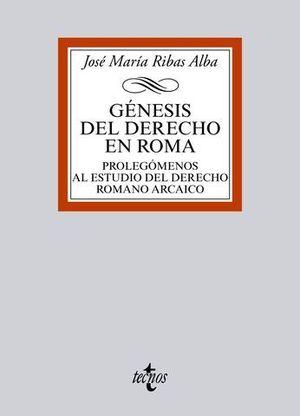 GENESIS DEL DERECHO EN ROMA
