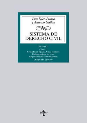 SISTEMA DE DERECHO CIVIL VOLUMEN II TOMO 2 11ª ED. 2015