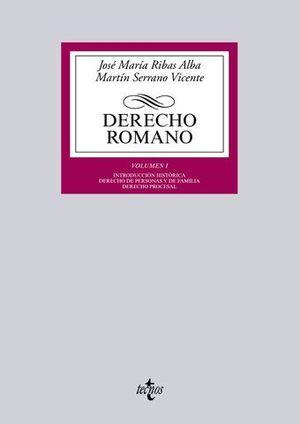 DERECHO ROMANO VOL I