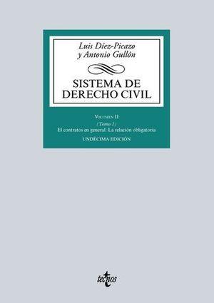 SISTEMA DE DERECHO CIVIL VOLUMEN II 11ª ED. 2016