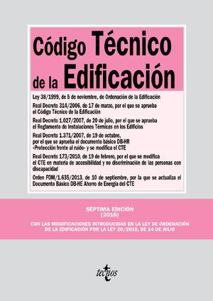 CODIGO TECNICO DE LA EDIFICACION ED. 2016