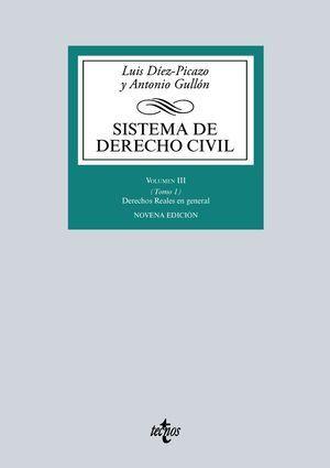 SISTEMA DE DERECHO CIVIL VOLUMEN III ( TOMO I ) 9ª ED. 2016