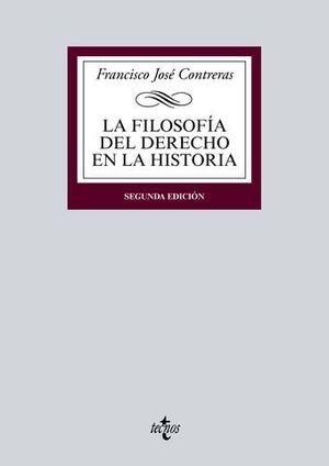 LA FILOSOFIA DEL DERECHO EN LA HISTORIA 2ª ED.