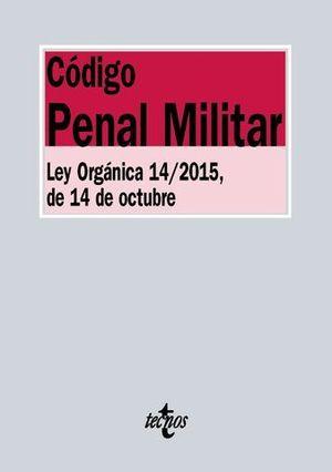 CODIGO PENAL MILITAR LEY ORGANICA 14/2015