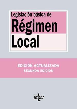 LEGISLACION BASICA DE REGIMEN LOCAL
