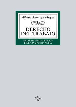 DERECHO DEL TRABAJO 37ª ED. 2016