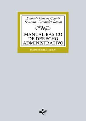 MANUAL BASICO DE DERECHO ADMINISTRATIVO 13ª ED. 2016