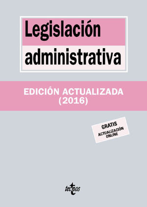 LEGISLACION ADMINISTRATIVA ED. 2016
