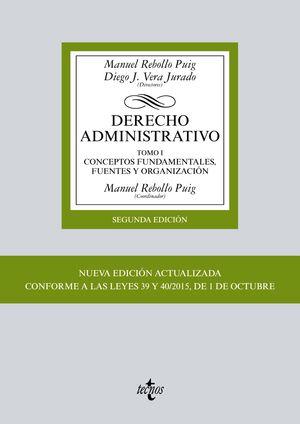 DERECHO ADMINISTRATIVO TOMO I 2ª ED. 2016