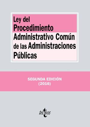 LEY DEL PROCEDIMIENTO ADMINISTRATIVO COMUN ADMINISTRACIONES PUBLICAS 2