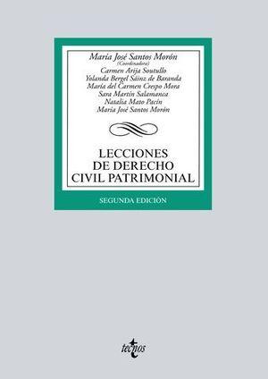 LECCIONES DE DERECHO CIVIL PATRIMONIAL 2ª ED. 2017