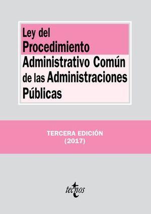 LEY DEL PROCEDIMIENTO ADMINISTRATIVO COMUN DE LAS ADMON. PUBLICAS