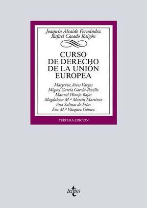 CURSO DE DERECHO DE LA UNION EUROPEA ED. 2018