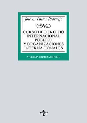 CURSO DE DERECHO INTERNACIONAL PÚBLICO Y  ORGANIZACIONES INTERNACIONAL