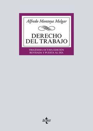 DERECHO DEL TRABAJO 38ª ED. 2017