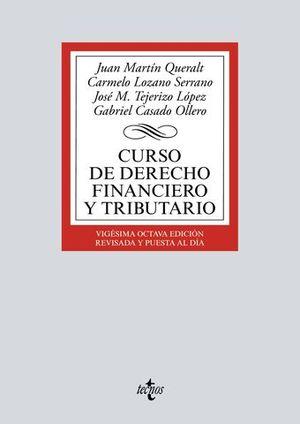 CURSO DE DERECHO FINANCIERO Y TRIBUTARIO 28ª ED. 2017
