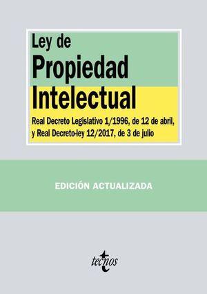 LEY DE PROPIEDAD INTELECTUAL ED. 2017