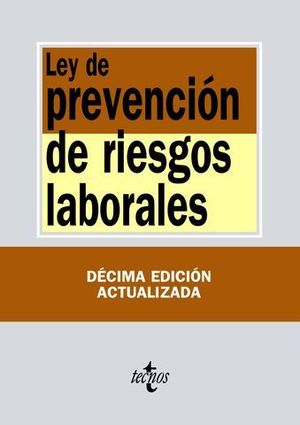 LEY DE PREVENCIÓN DE RIESGOS LABORALES.